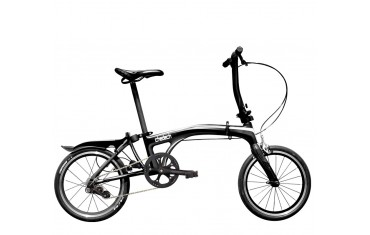 Carbon Folding Bike - chedech (black)