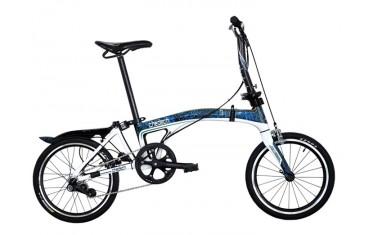 Carbon Folding Bike - chedech (blue)
